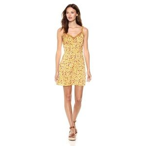 The Fifth Label Sleeveless V Neck Mini Flare Dress
